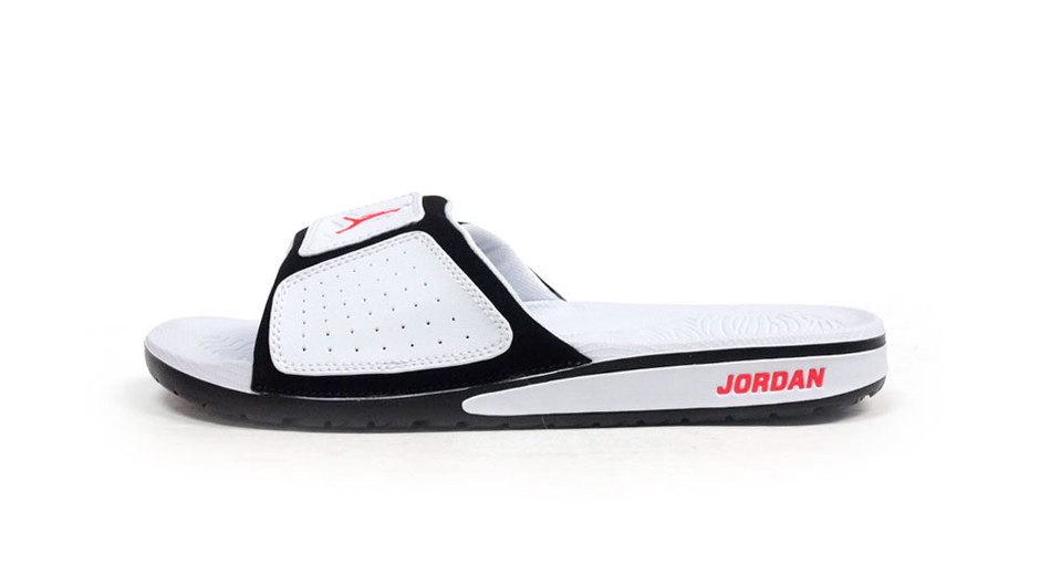 "JORDAN HYDRO III ""LIMITED EDITION for NONFUTURE"" WHT/BLK/RED ナイキ NIKE 