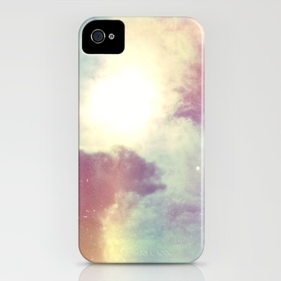 look to the sky iPhone Case by Sara Montour | Society6