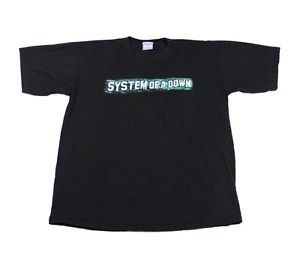2001 System of A Down Toxicity Shirt Mens Size XL   eBay