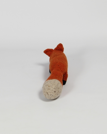 Knitted Irish Teddy | Claire Anne O'Brien | Irish Craft | Fox | Shop | Design and Craft | Gifts | Makers&Brothers | Makers & Brothers