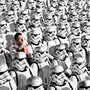 storm troopers watching the movie