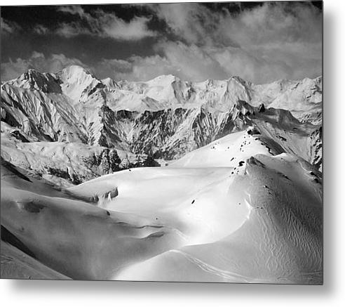 Courchevel Metal Print By Graham Moore
