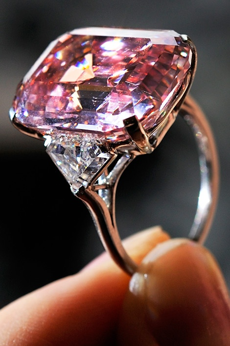 Expensive / $46,000,000.00 The Graff Pink 24.78 carat Diamond ring
