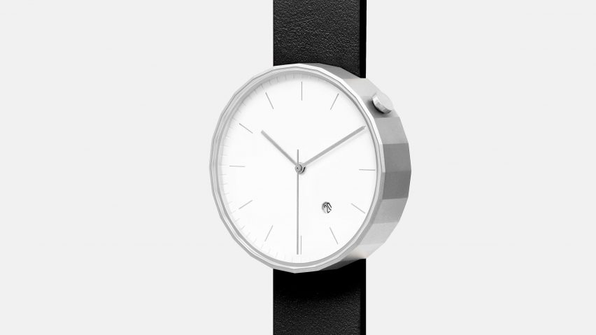 Chi and Chi's second watch features a 24-sided dial and refined materials