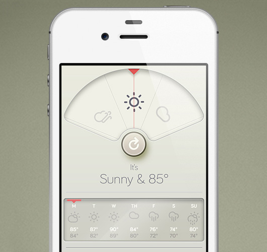 WTHR — A Simple Weather App with Scrumptious Pixels — Beautiful Pixels