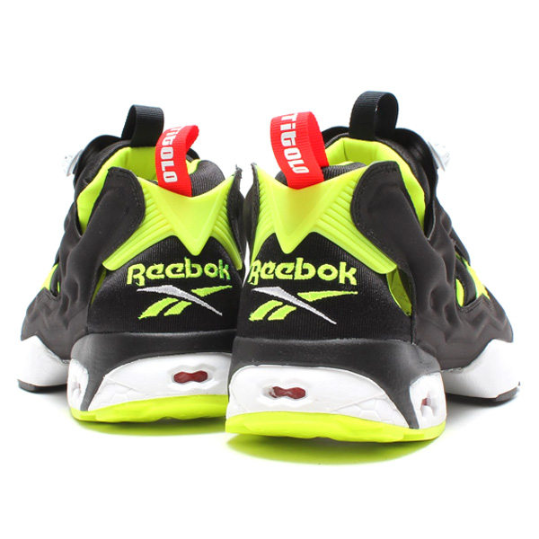 Reebok×TITOLO INSTA PUMP FURY BLACK/NEON YELLOW - MENS SHOESSNEAKERSLOW-CUT - |atmos [スニーカーセレクトショップのアトモス]