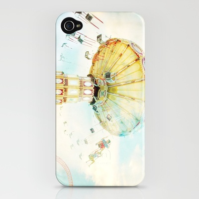 step back into fun iPhone Case by Mina Georgescu | Society6