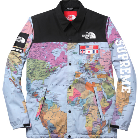 Supreme: The North Face®/Supreme Expedition Coaches Jacket - Map