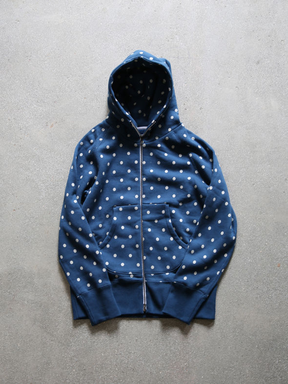 "CURLY ""DOT ZIP PARKA""(2COLORS) 商品詳細 THE SUPERIOR LABOR,A VONTADE,CURLY,NICHE,bukht通販サイト 広島県呉市のセレクトショップ"