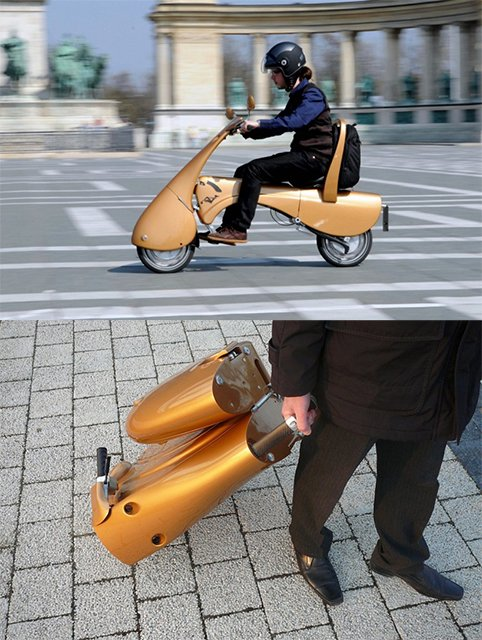 Fancy - Moveo Folding Electric Scooter