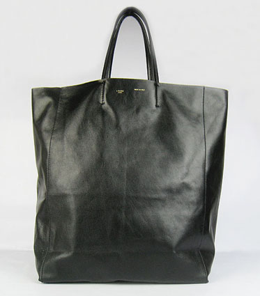 Celine-Cabas-Lambskin-Shopper-Tote-Bag-Black-1868,More-Brands-Handbags,More-Brands-Handbags,Replica handbags,Louis Vuitton replica handbag, Designer Replica Bags