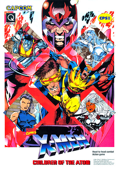 X-Men: Children of the Atom (arcade game) - Marvel Comics Database