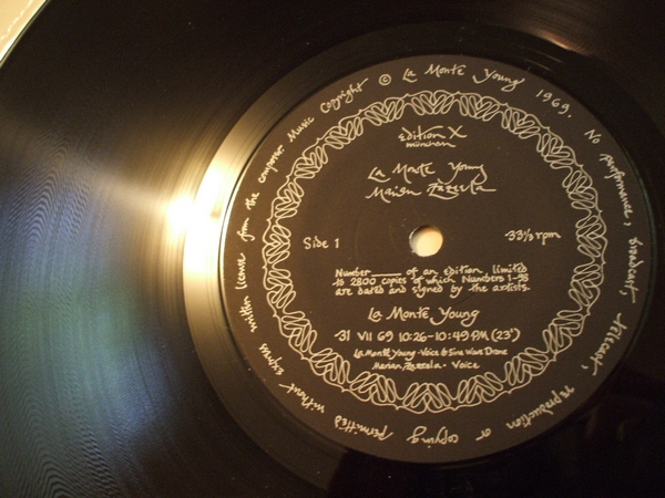 Images for La Monte Young / Marian Zazeela - The Black Record