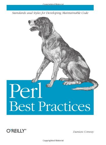 Amazon.co.jp: Perl Best Practices: Damian Conway: 洋書