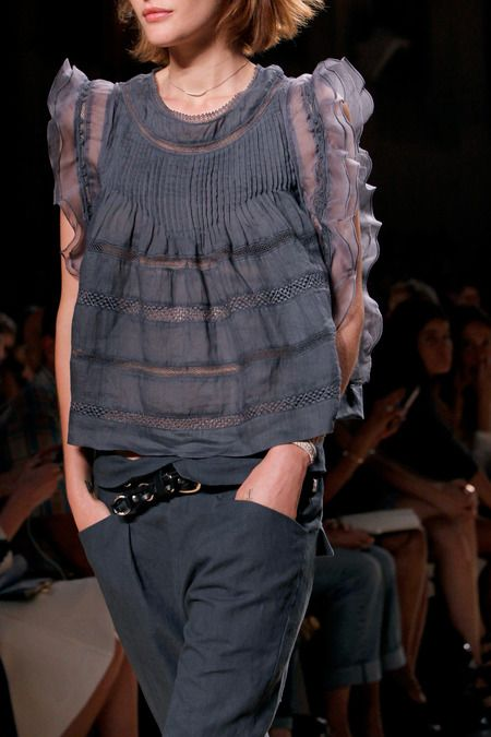 Womans_Style...!! / Isabel Marant Spring 2014 Ready-to-Wear Collection Slideshow on Style.com