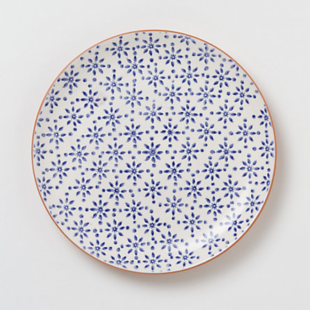 Floraspot Terracotta Dinner Plate in House+Home KITCHEN+DINING Dining Dinnerware at Terrain