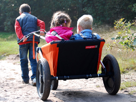 Spark design & innovation - Rotterdam » Project » Coocarooc Breeze foldable kids wagon