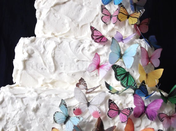 30 Edible Butterflies All Sorts Butterfly by incrEDIBLEtoppers