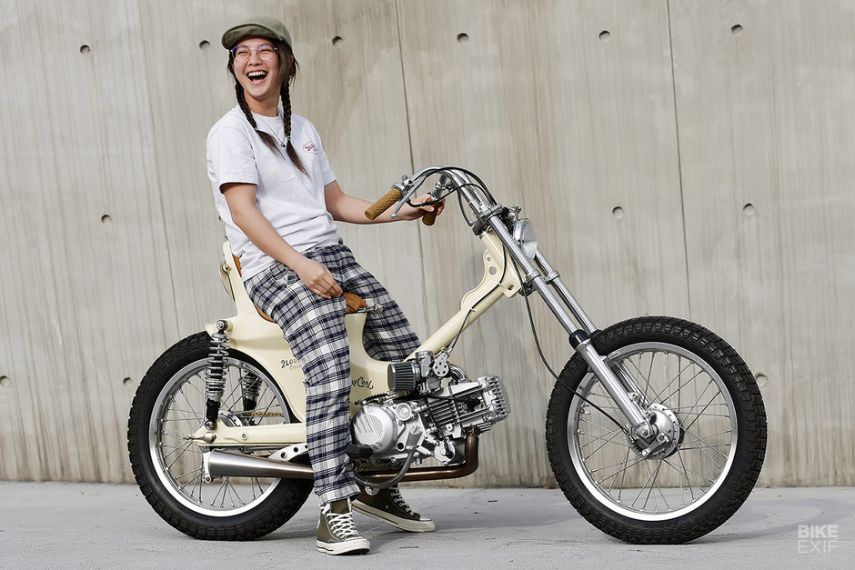 Laid Back: Proof that you can turn a Cub into a chopper | Bike EXIF