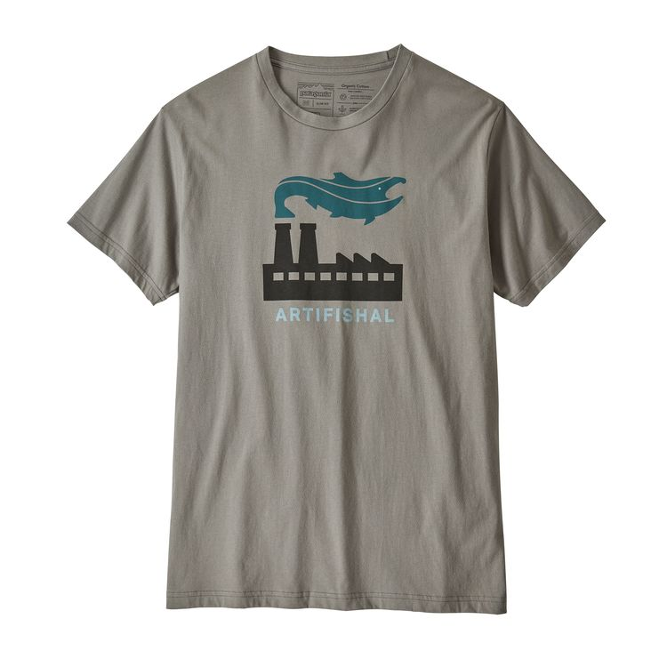 Patagonia Men's Artifishal Organic Cotton T-Shirt