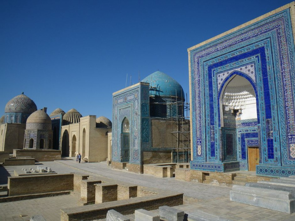 The Golden Domes of Samarkand Compose a Fiery Prayer » TravelBlog Archive » Further Wanderings