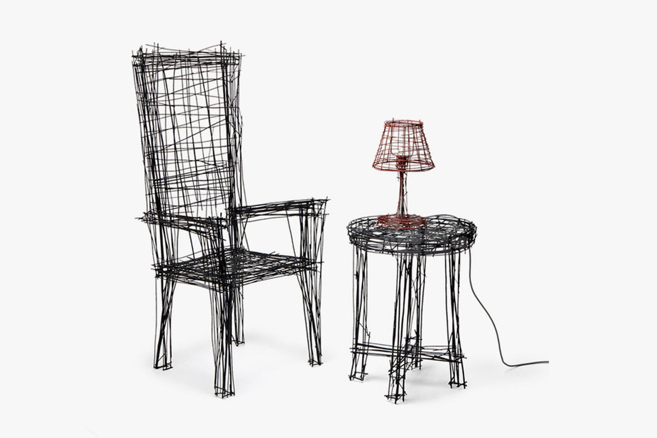 Drawing Furniture Series by Jinil Park • Highsnobiety