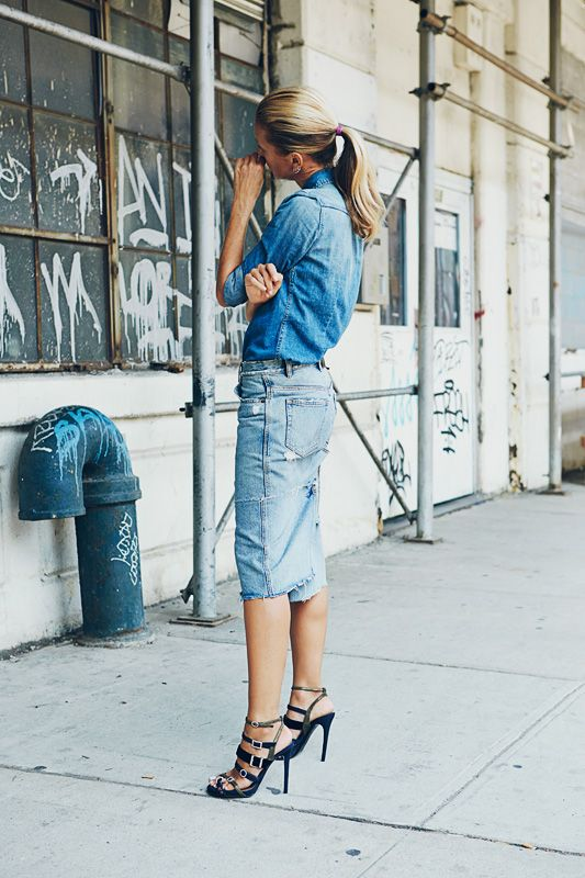 Pin by s y on Fashion:Denim style | Pinterest