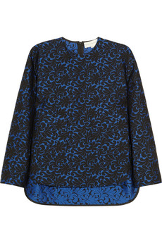 Stella McCartney | Wool-blend jacquard top  | NET-A-PORTER.COM