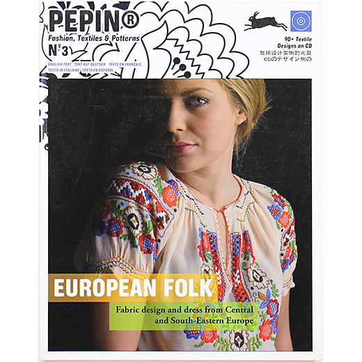 European Folk: Fabric Design and Dress from Central and South-Eastern Europe ヨーロピアン・フォーク - OTOGUSU Shop オトグス・ショップ