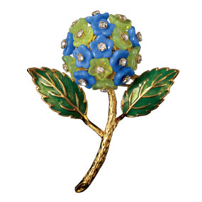 Russian Imperial Verbena Pin - Pins - Jewelry - The Met Store