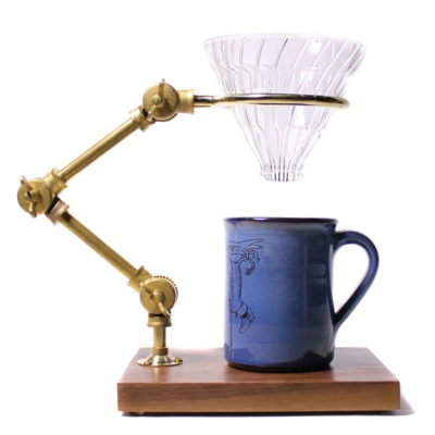 curator pour-over coffee stand