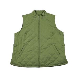 Orvis Green Quilted Vest Menswear Rustic Outdoor Clothing Menswear Size Large | eBay