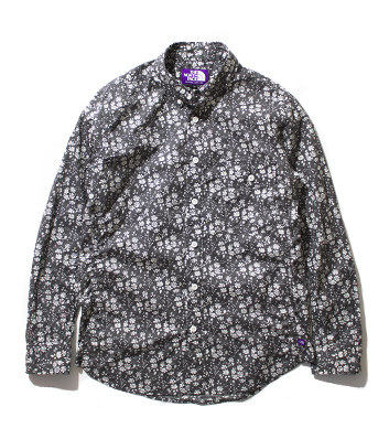 nanamica / Flower Print Mountain Shirt