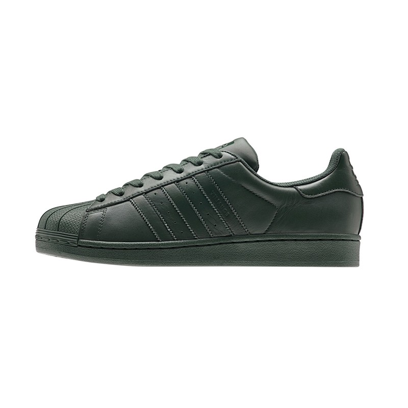 Superstar Supercolor Pharrell Williams Olive - sole what