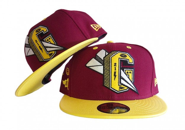 Benny Gold a?? Varsity G New Era Fitted Hat (Maroon Red) | L.I.C.K. NYC [Long Island City Kleaners] ($20-50) - Svpply