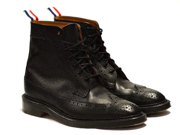 DAY SHOP THOM BROWNE Long Wing Brogue Boot 8 (USED) DAY Yahoo! 拍賣