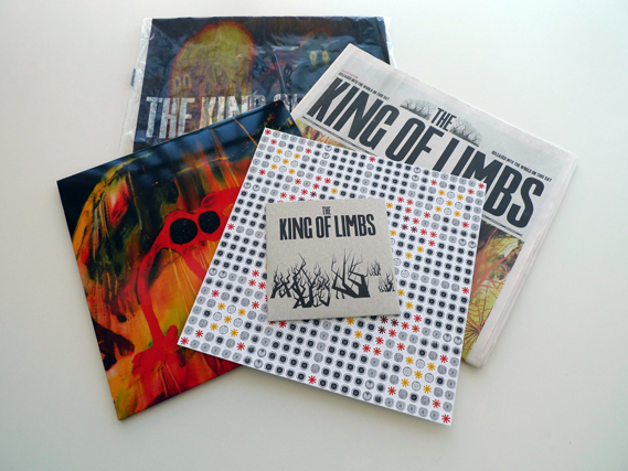 Creative Review - The King of Limbs Newspaper Album by Stanley Donwood