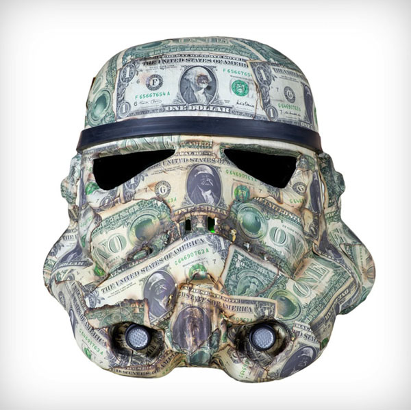 Art Wars: Famous Artists Remix the Famous Star Wars Storm Trooper Helmet (Coming to the London Underground)