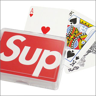 Orange Life of The Inertia : Supreme Bicycle Playing Cards & Gallery 1950 for Supreme Rugっ♪♪