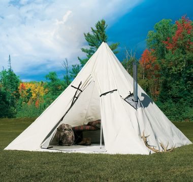Cabela's: Cabela's Outfitter Range A-Frame Tent by Montana Canvas