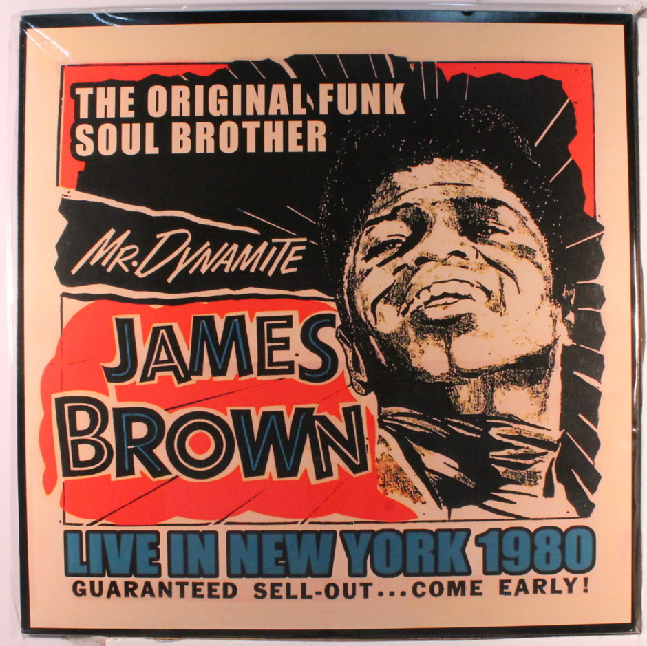 JAMES BROWN(LP) LIVE IN NEW YORK 1980