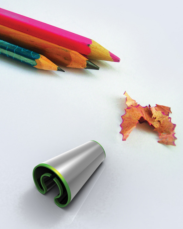 Twist Pencil Sharpner by Abhishek Anupam » Yanko Design