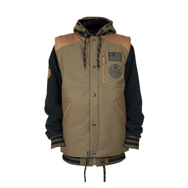 Saga Online Store   Puff Vest & Poly Combo (Scout Master Ward)