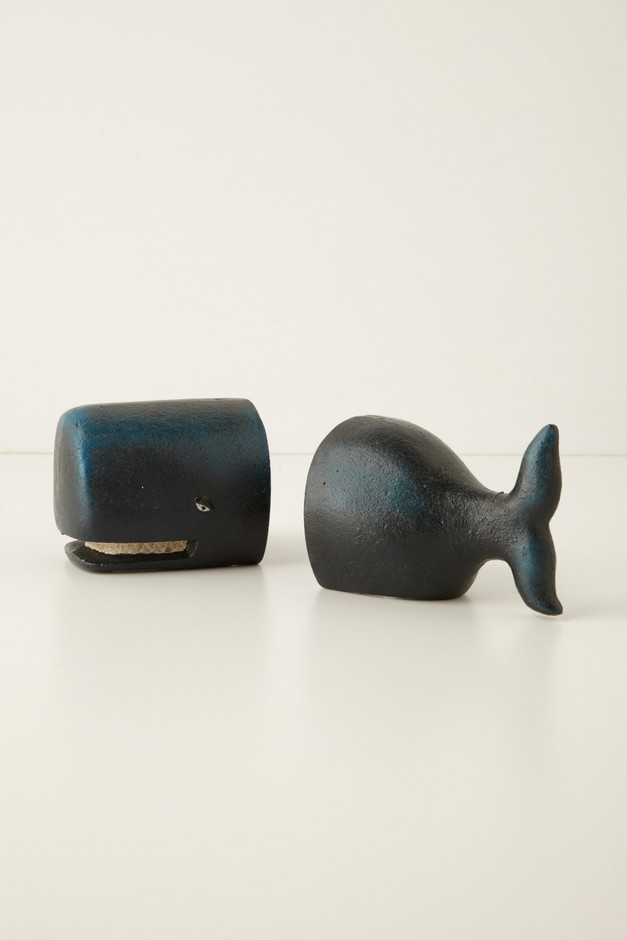 Victorian Whale Bookends - Anthropologie.com