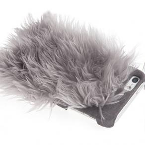 iPhone5ケースを選ぶなら | 【ION】Monster Fur Cover Schnauzer grey for iPhone5 ケース イオン グレー | caseplay