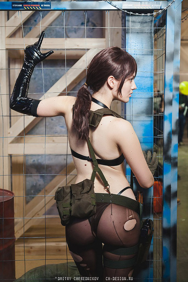 Quiet B-Side from Metal Gear Solid V video game - Cosplay My Game