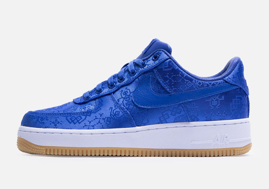 CLOT Nike Air Force 1 Blue Silk Release Date CJ5290-400 | SneakerNews.com