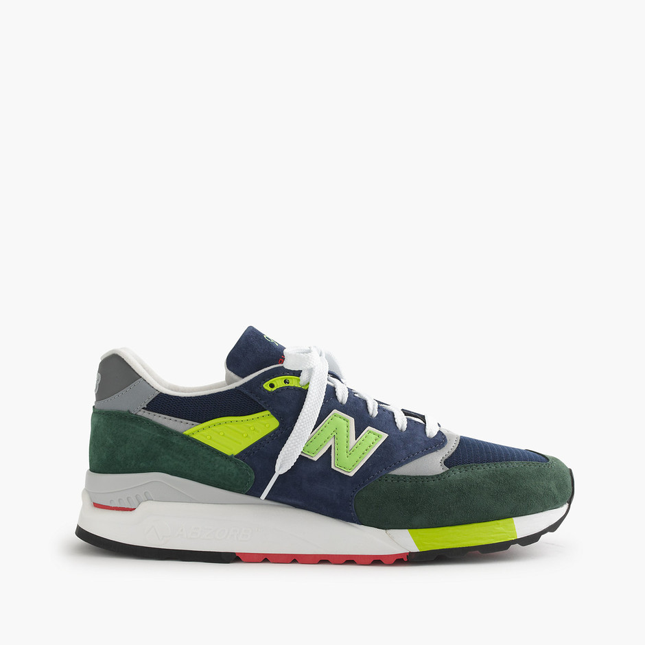 Limited-edition New Balance® for J.Crew 998 royalty sneakers : shoes | J.Crew