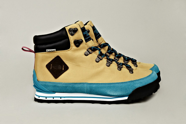 THE NORTH FACE 2012 Fall/Winter Back to Berkeley Hiking Boots Blue/Tan | Hypebeast