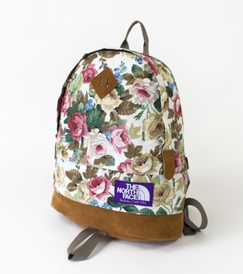 The North Face Purple Label (ノースフェイス パープルレーベル) Floral Daypack | james mcnally